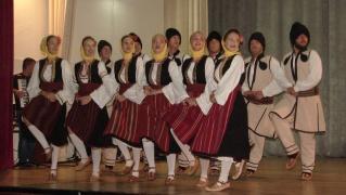 Spettacolo folkloristico a Rudo